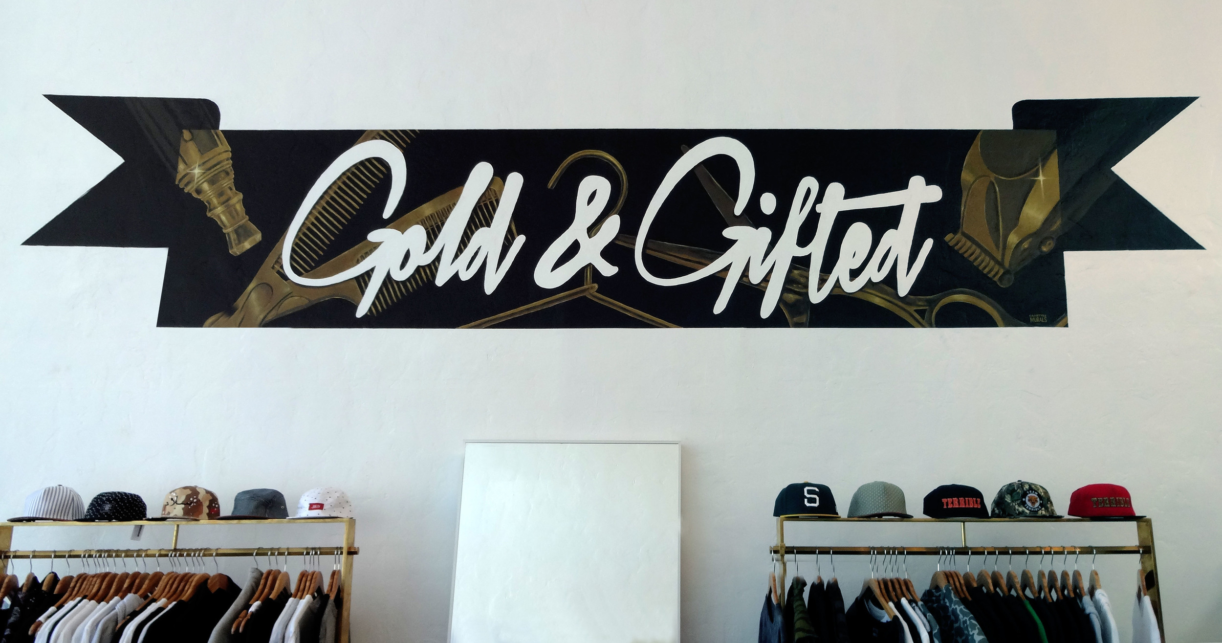 Gold & Gifted Mural