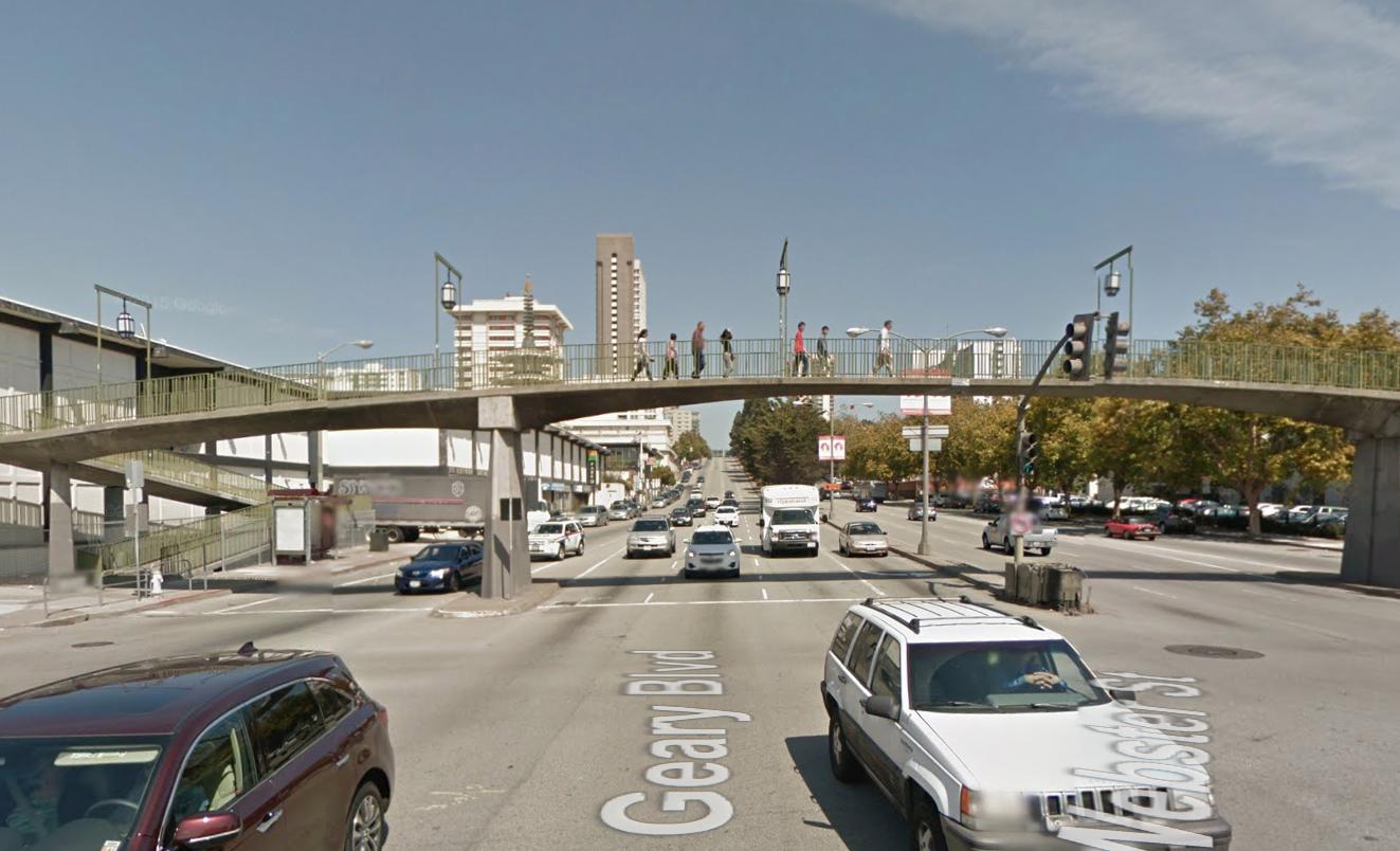 Geary Blvd & Steiner St, San Francisco, CA 94115 Photo Courtest:  Google Maps