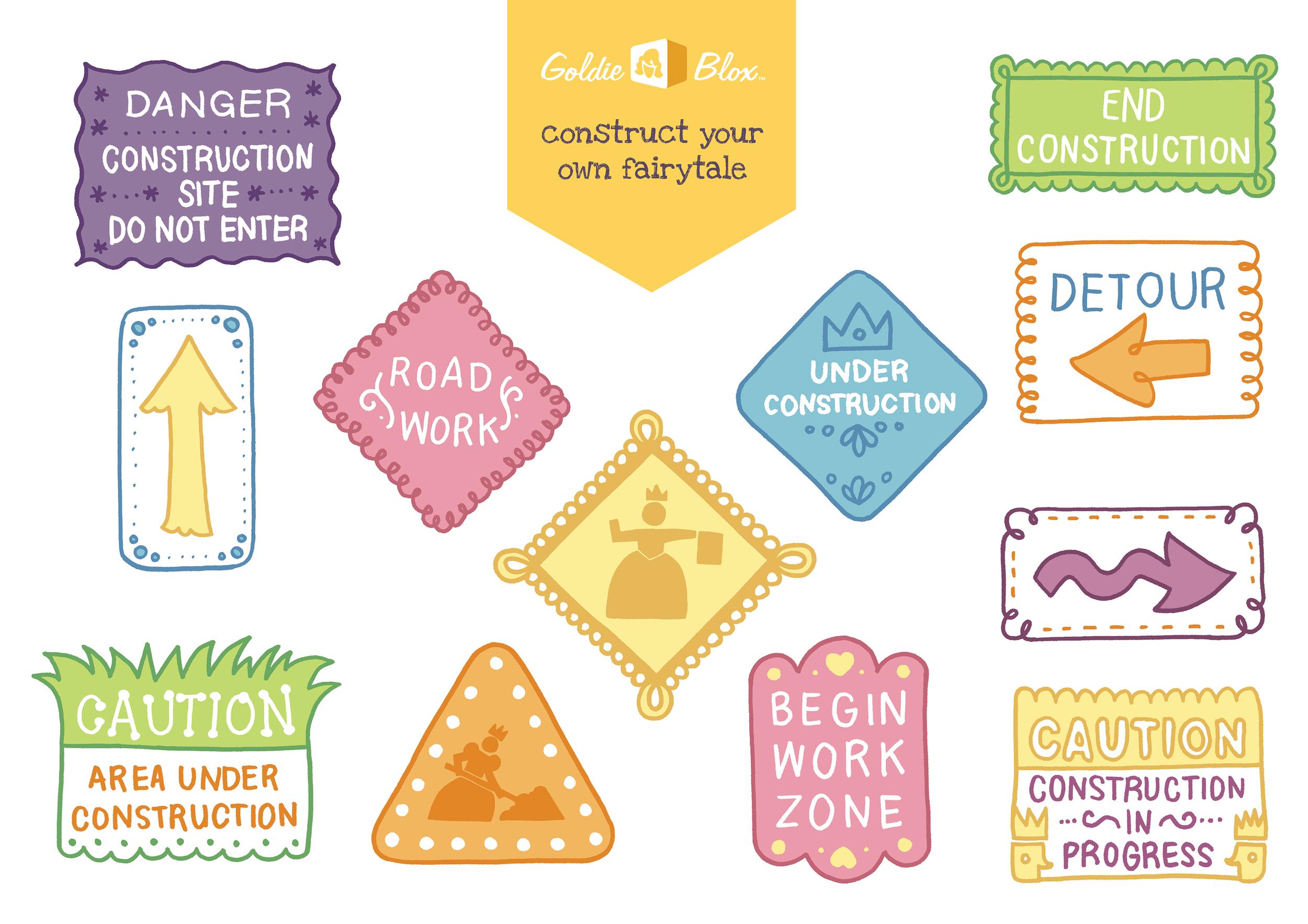 Promotional sticker sheet