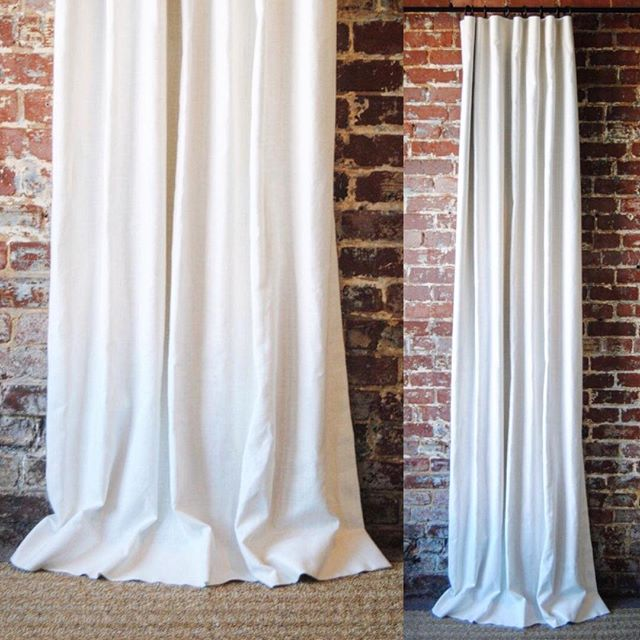 You just can't beat a solid white drapery panel and our linen panels are absolutely second to NONE (not to mention our pricing 👊🏼). Check them out! #linkinprofile