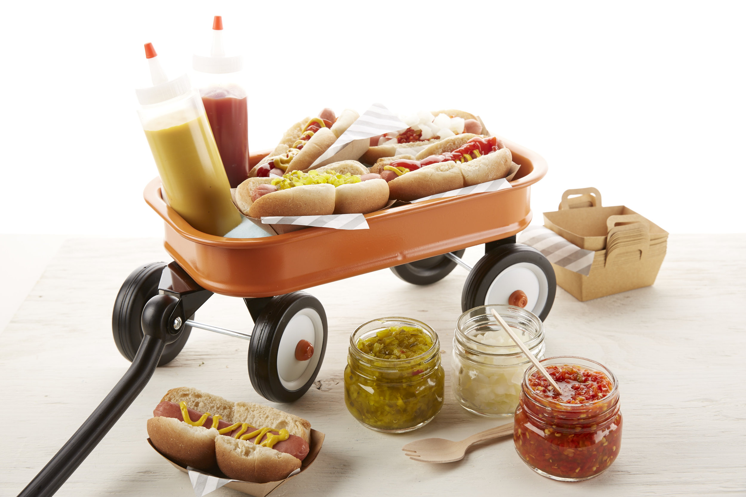 Hotdog Picnic for OshKosh B'Gosh |   Steve Pomberg