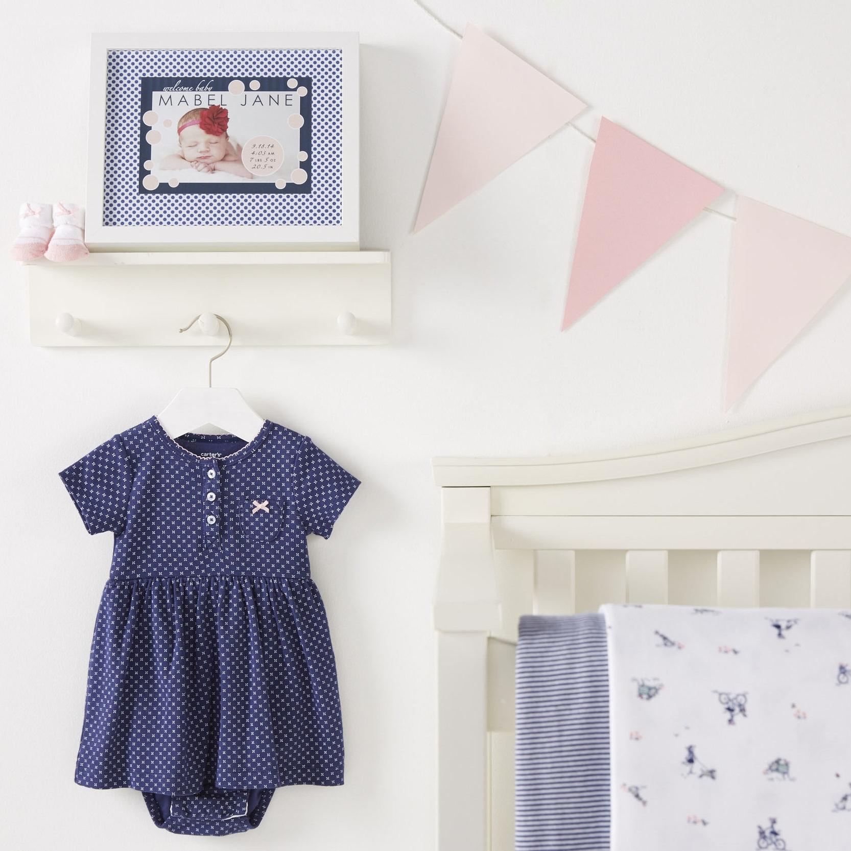 Baby Girl Nursery  for Carter's |   Steve Pomberg