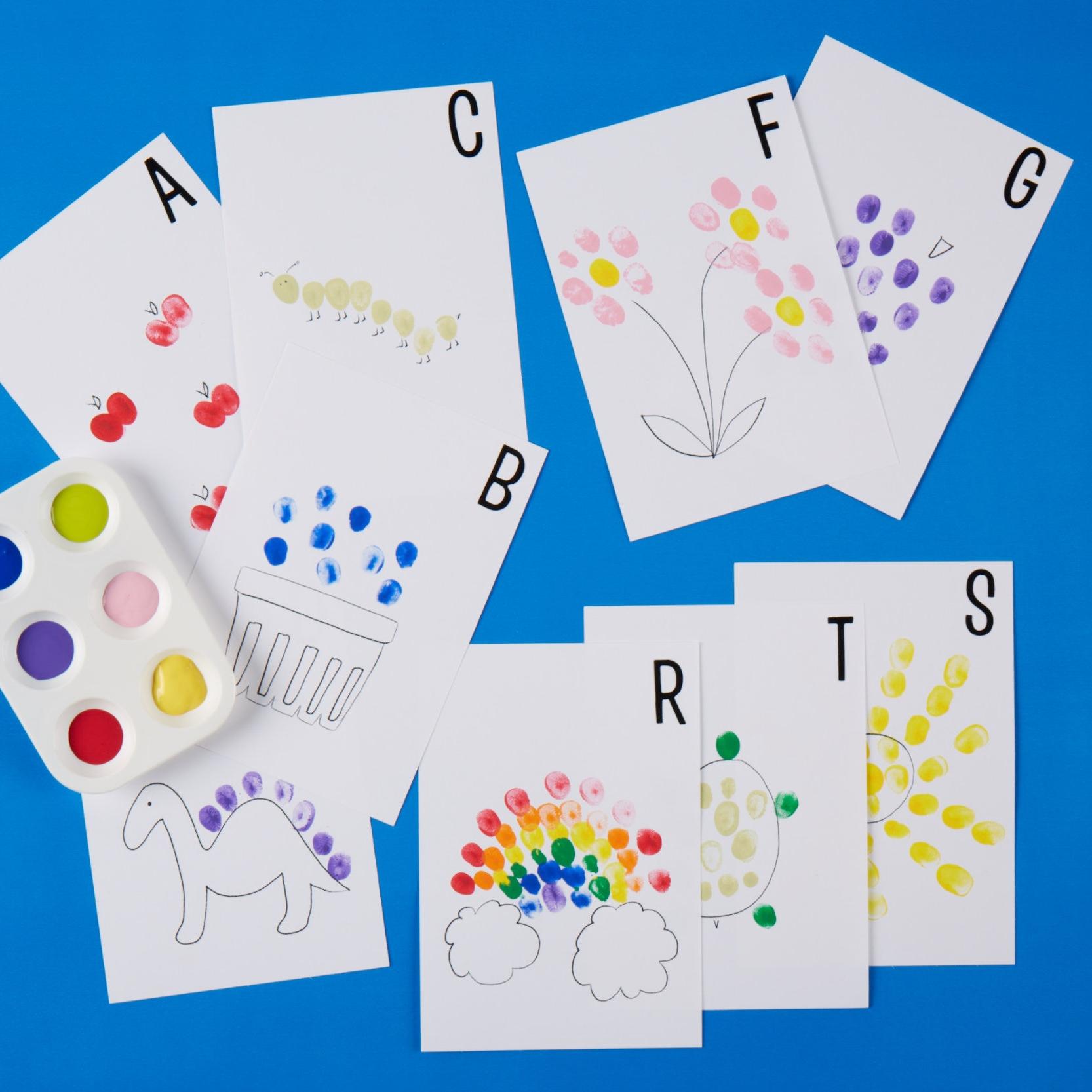 Fingerprint Flashcards  for  Carter's |  Steve Pomberg