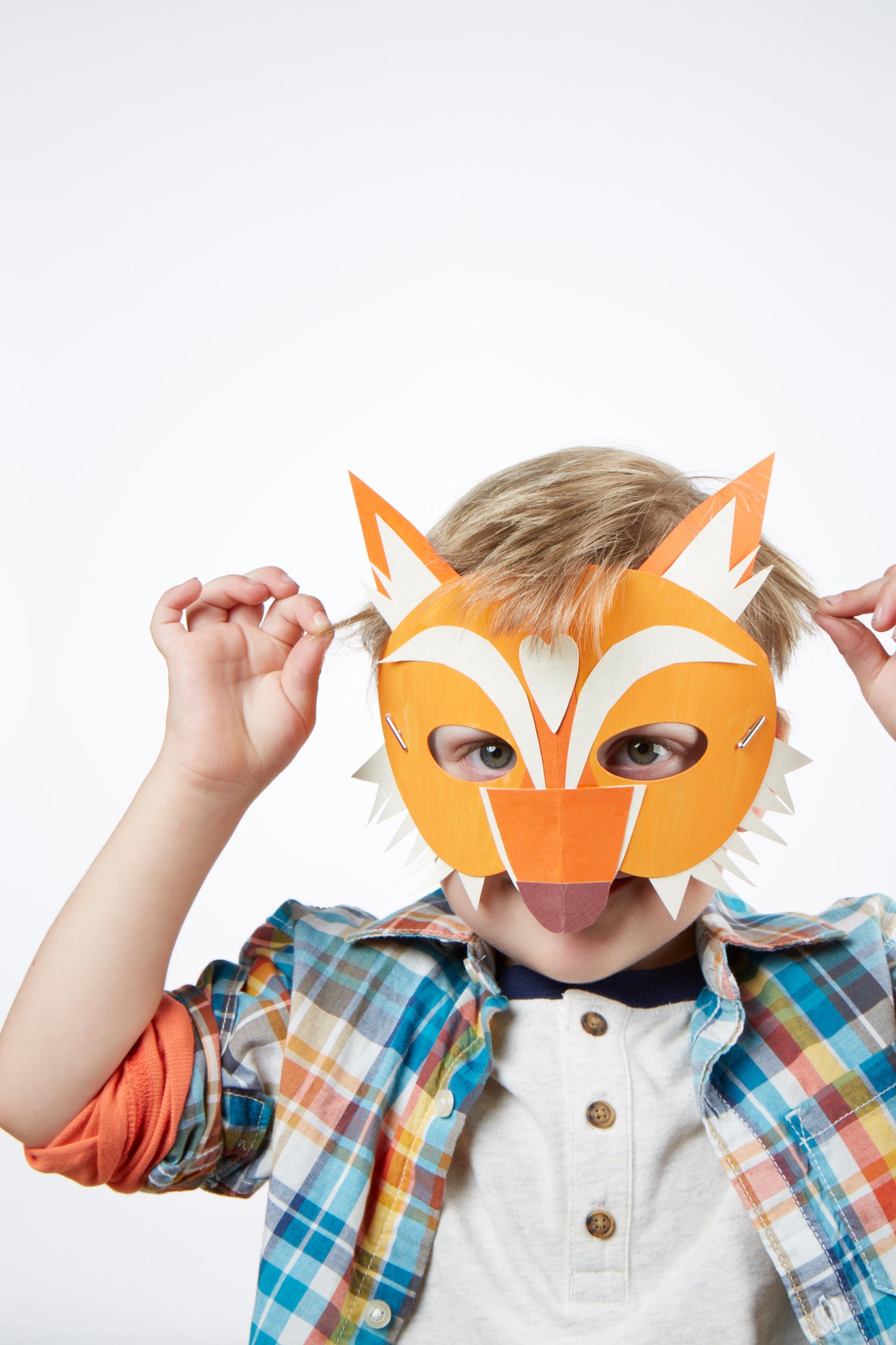 Make Believe Masks  for  Carter's |  Steve Pomberg