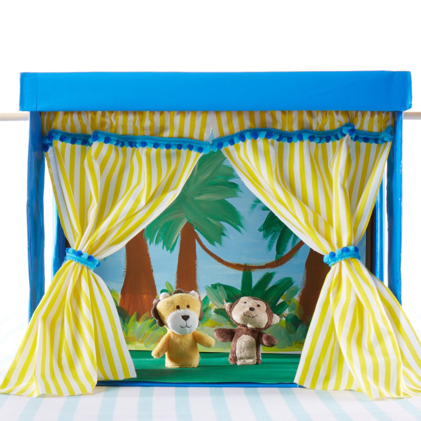 Finger Puppet Theater  for  Carter's |  Steve Pomberg