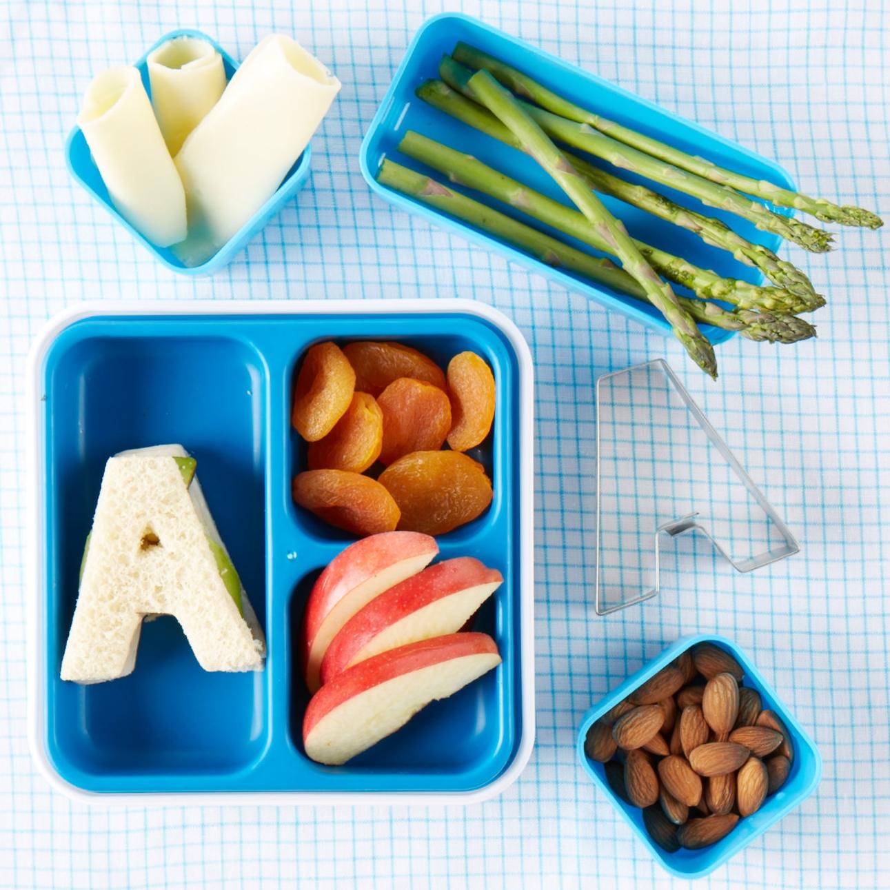 Alphabet Bento Box Lunch  for  Carter's |  Steve Pomberg