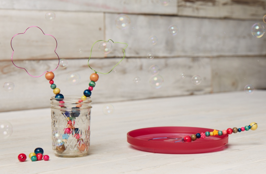 Beaded Bubble Wands  for Oshkosh B'Gosh |   Steve Pomberg