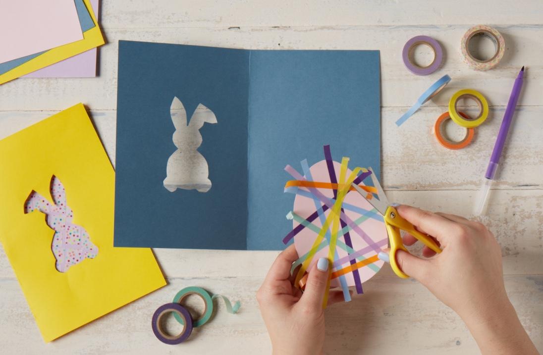 Washi Tape Easter Crafts  for Carter's |   Steve Pomberg