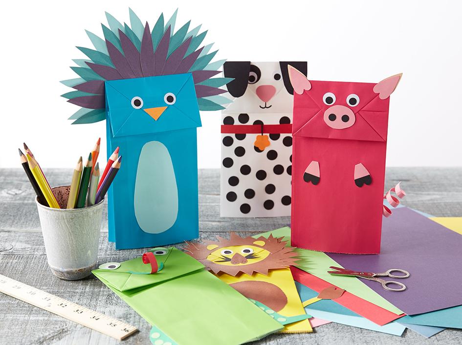 Paper Bag Puppets  for Oshkosh B'Gosh |   Steve Pomberg