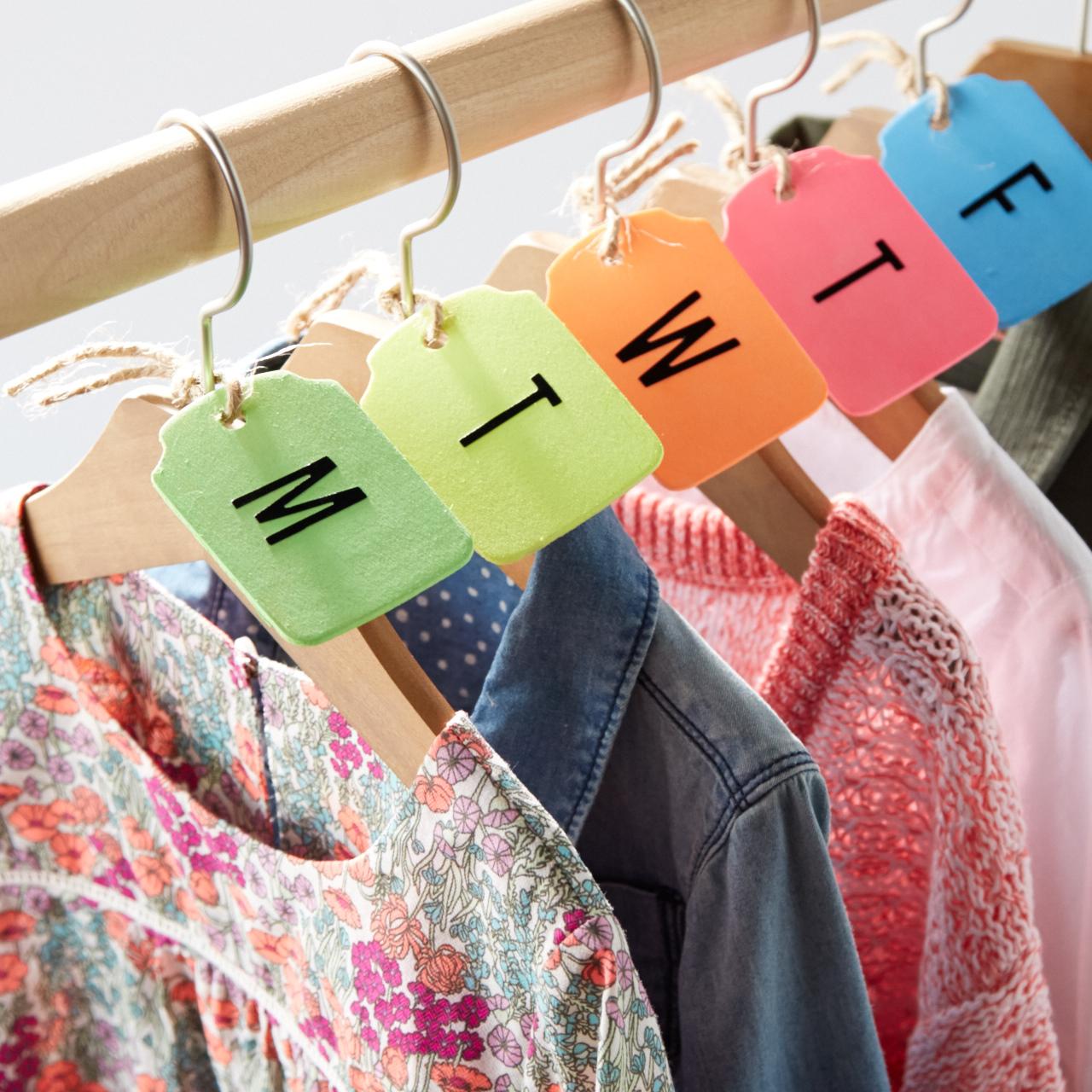 Days of the Week Hanger Tags  for  Oshkosh B'Gosh |  Steve Pomberg