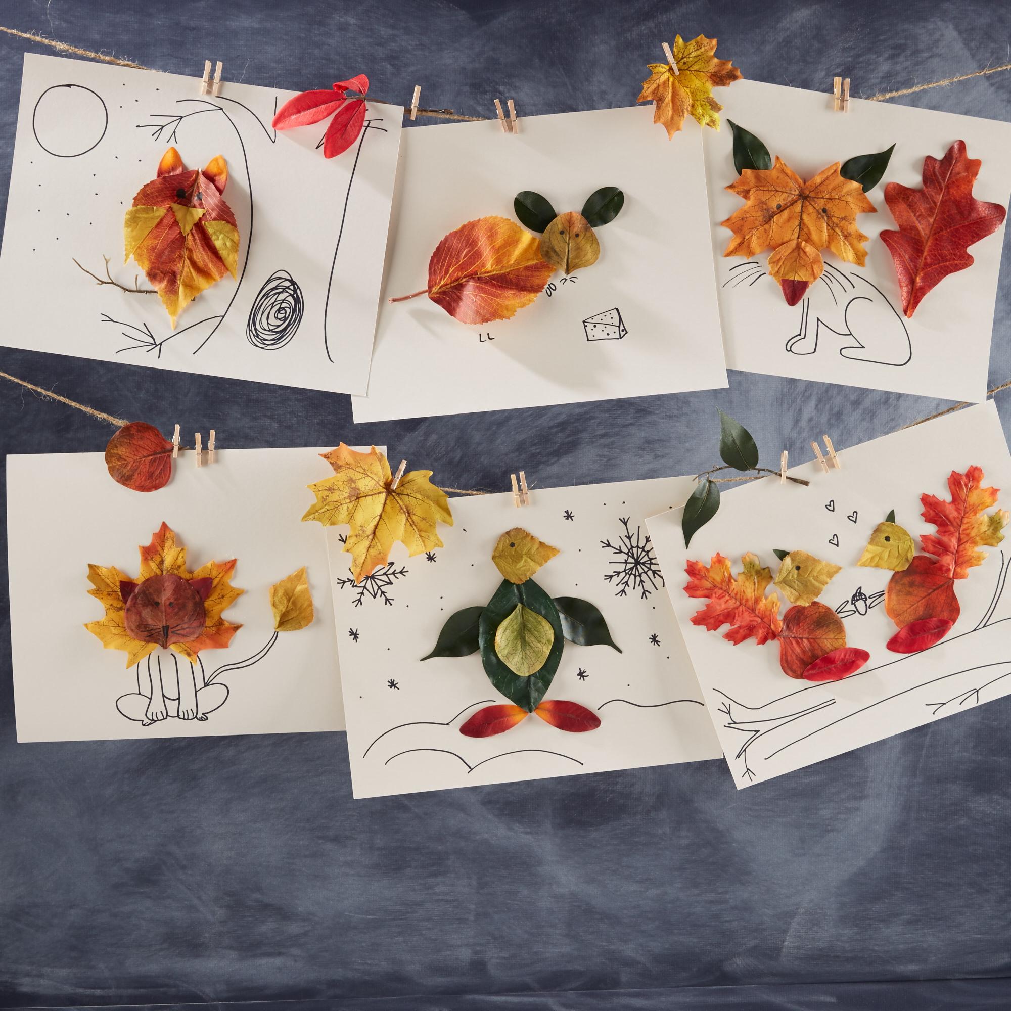 Fun with Fall Leaves  for  Oshkosh B'Gosh |  Steve Pomberg