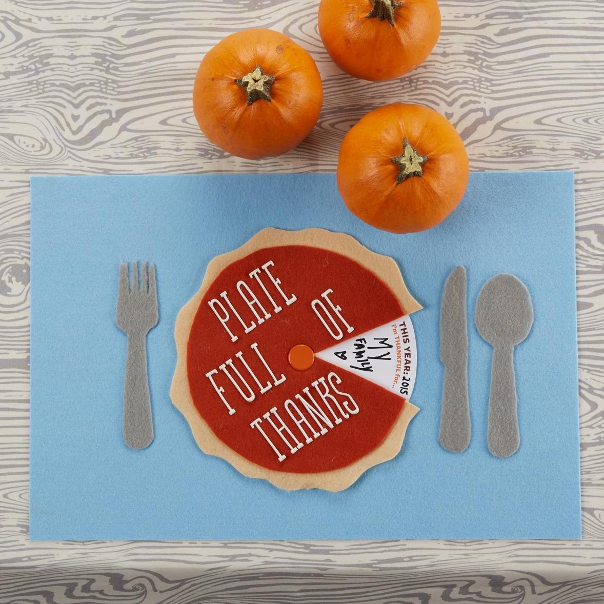 Thanksgiving Placemat  for  Carter's |  Steve Pomberg