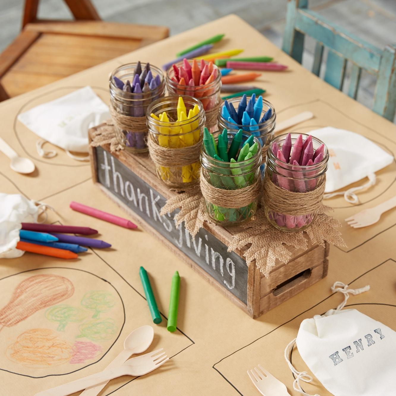 Thanksgiving Kids Table  for  Oshkosh B'Gosh |  Steve Pomberg