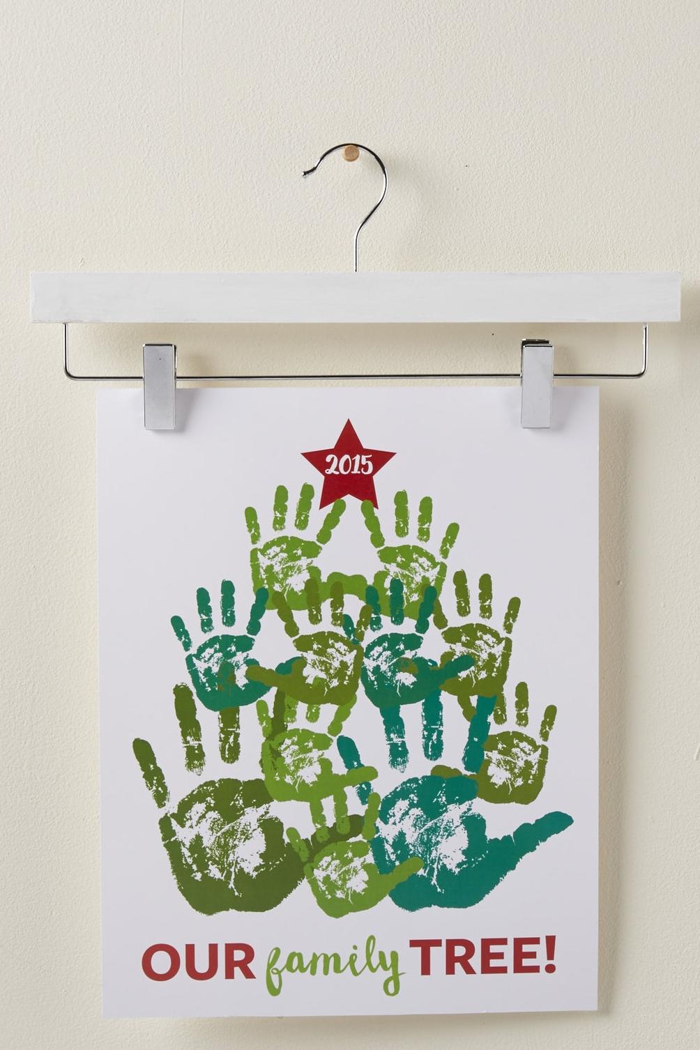 Holiday Handprint Tree  for  Carter's |  Steve Pomberg