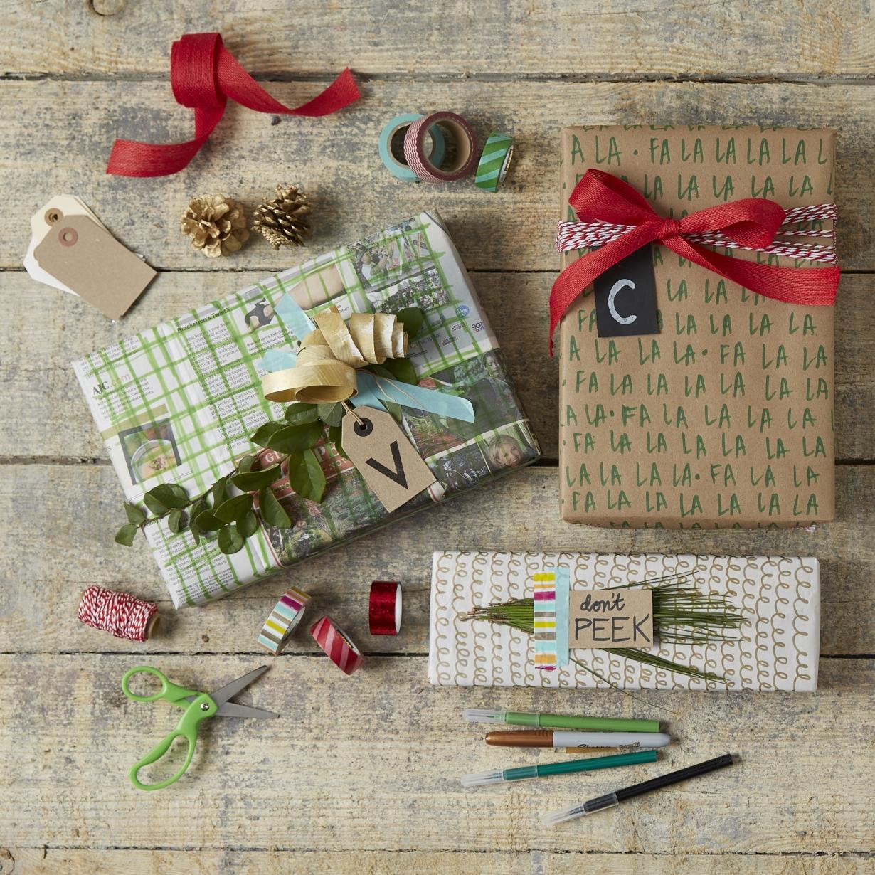 Homemade Paper Wrap  for  Oshkosh B'Gosh  |  Steve Pomberg