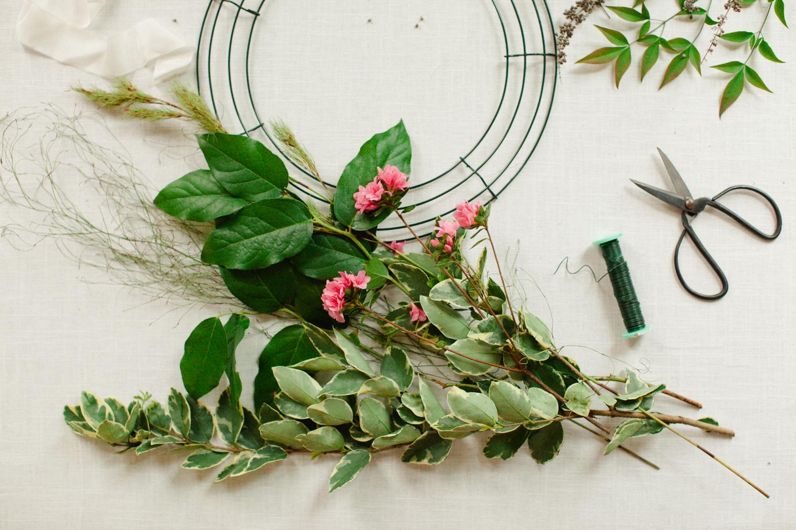 DIY Wreath |   Sawyer Baird