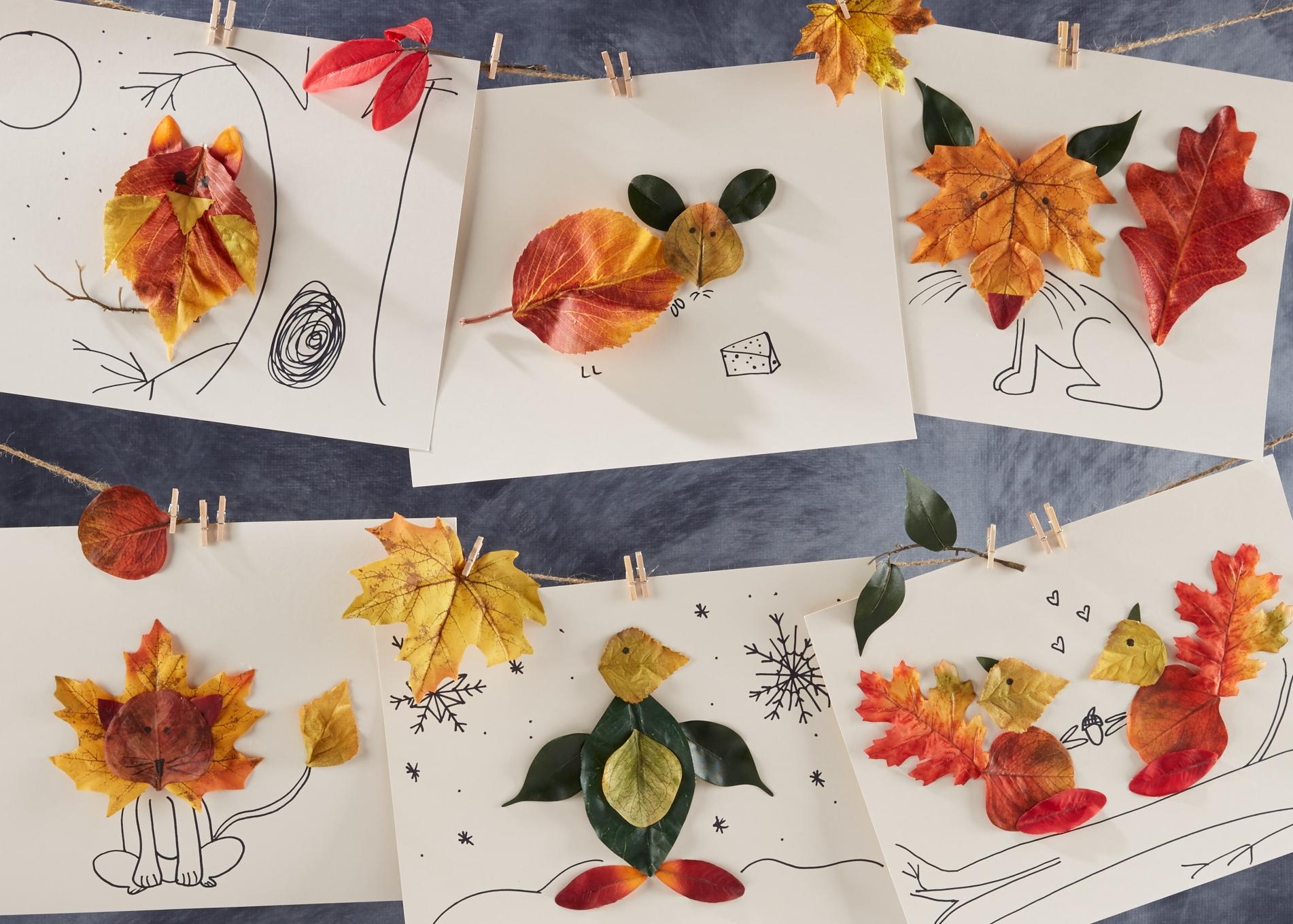 Leaf Animals  for  Oshkosh B'Gosh  |  Steve Pomberg