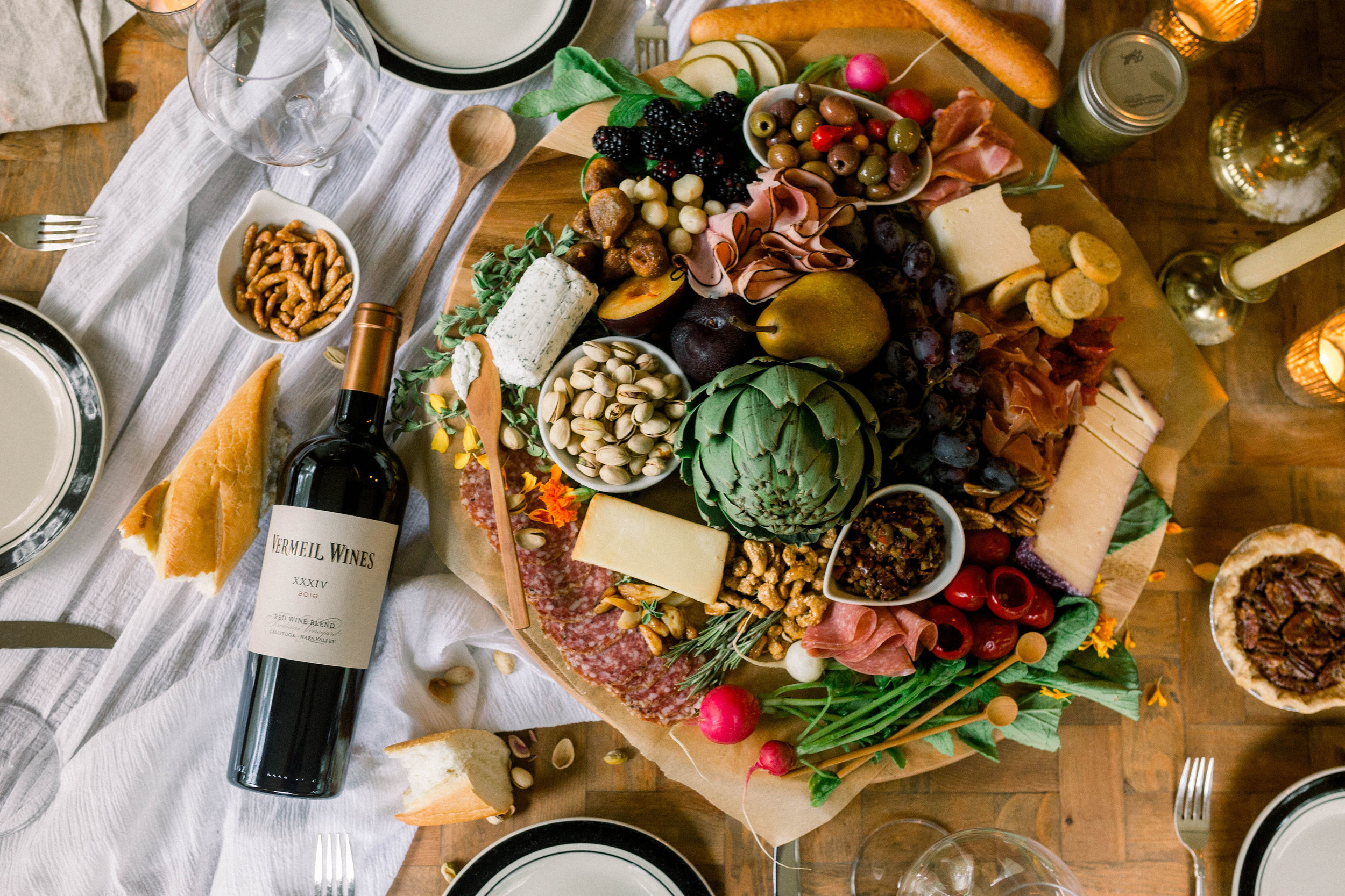 Charcuterie for Vermeil Wines  |  Kelly Berry