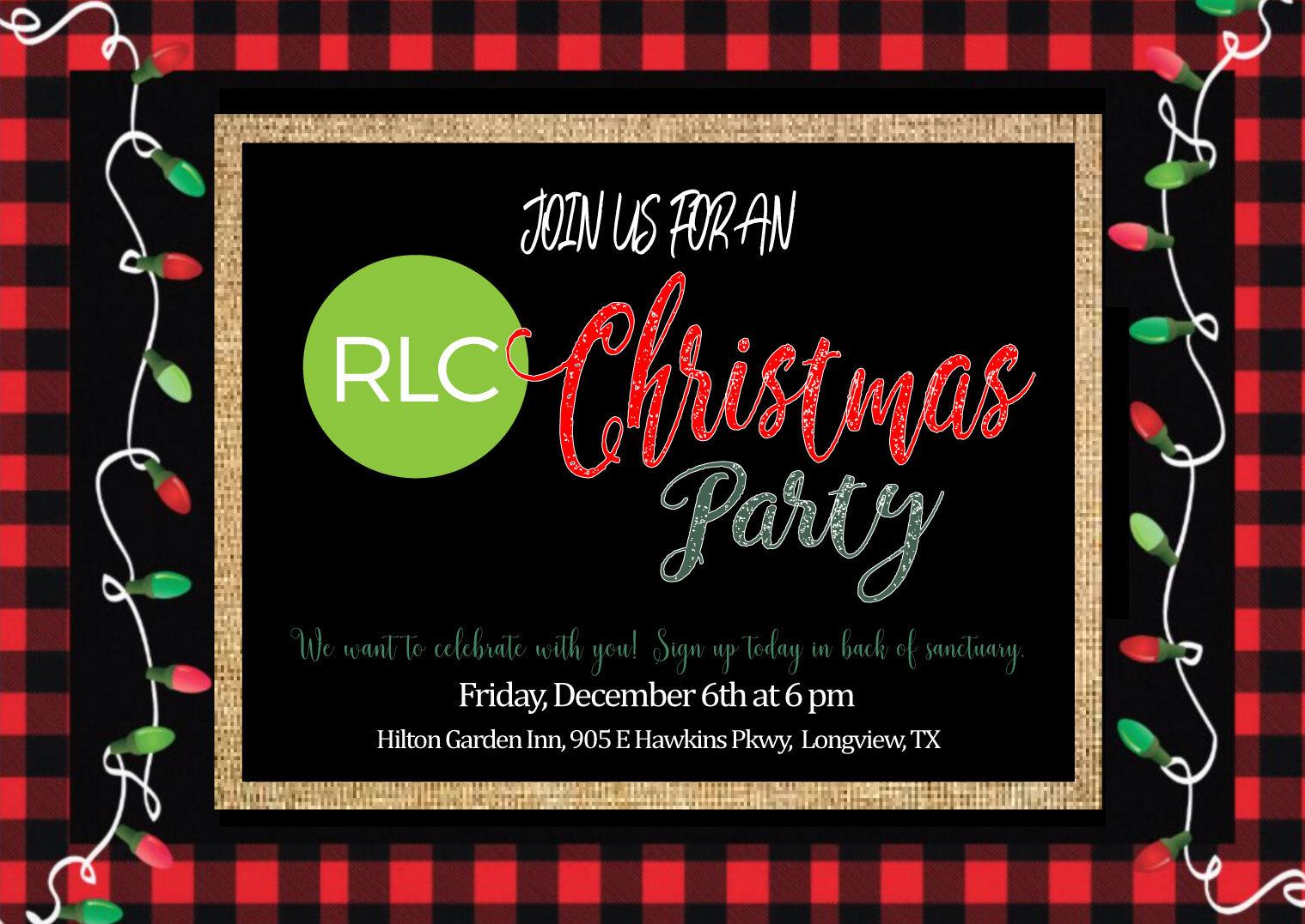 Rlc Family Christmas Party Risen Life Church