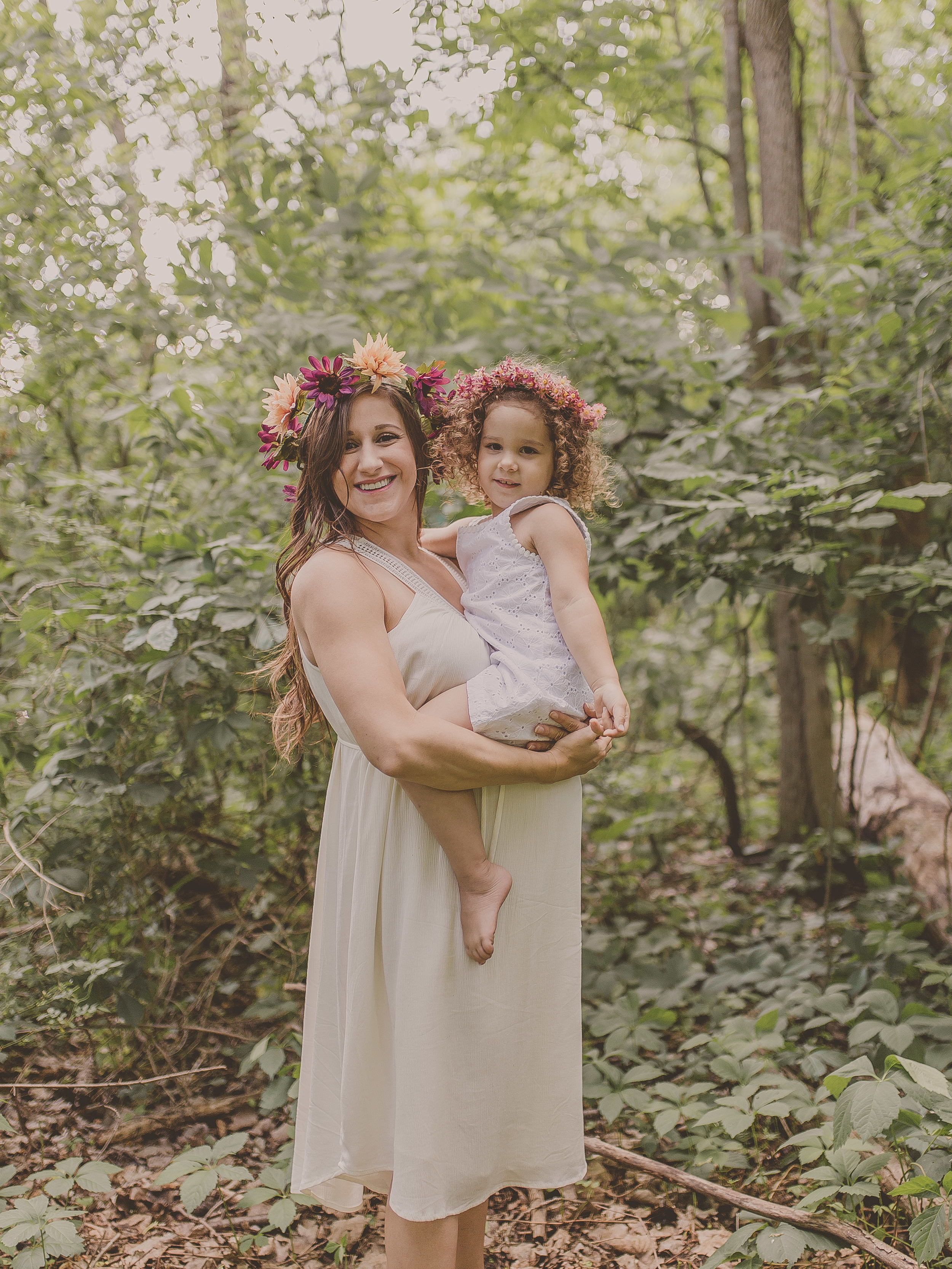 How beautiful do these girls look in my #DIY headbands I made especially for this session!