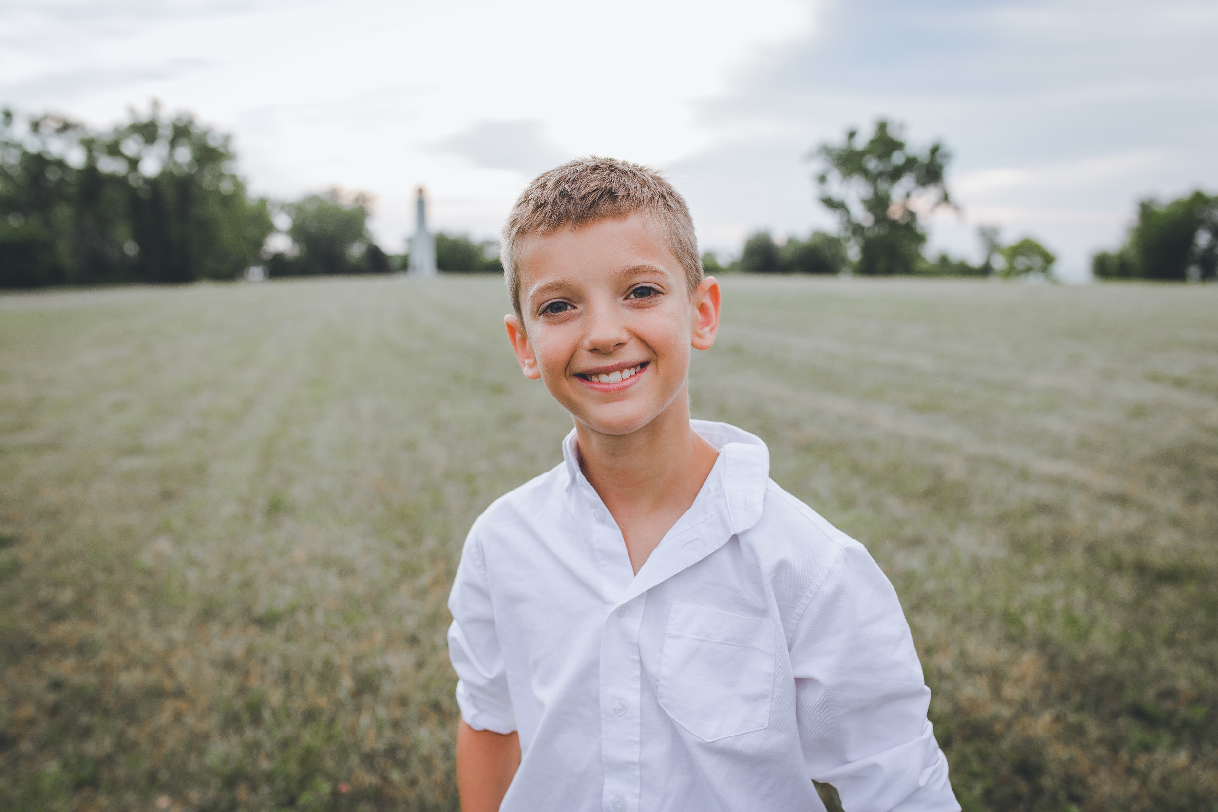 I would say that Noah, is a natural in front of the camera!