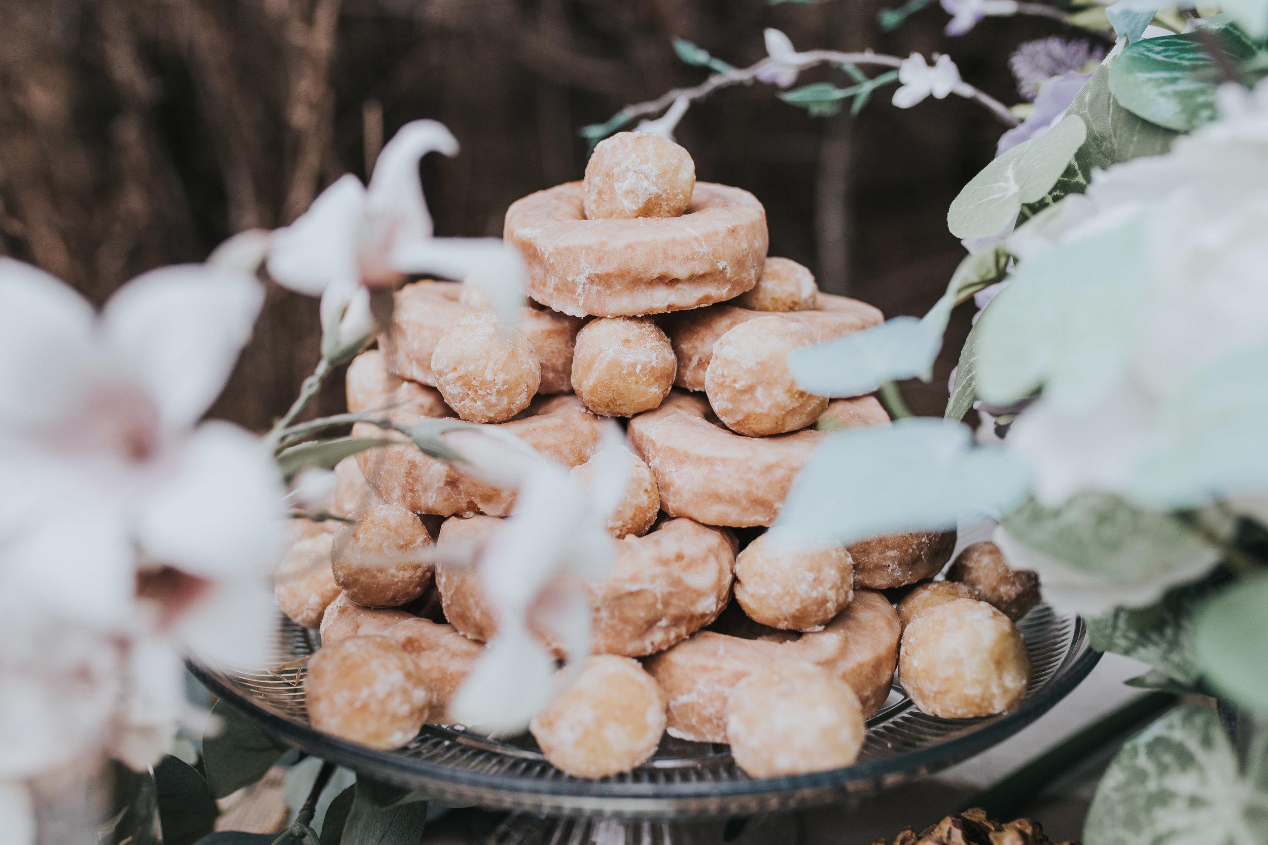 Oh My God yummy donut cake for styled shoot in novi michigan