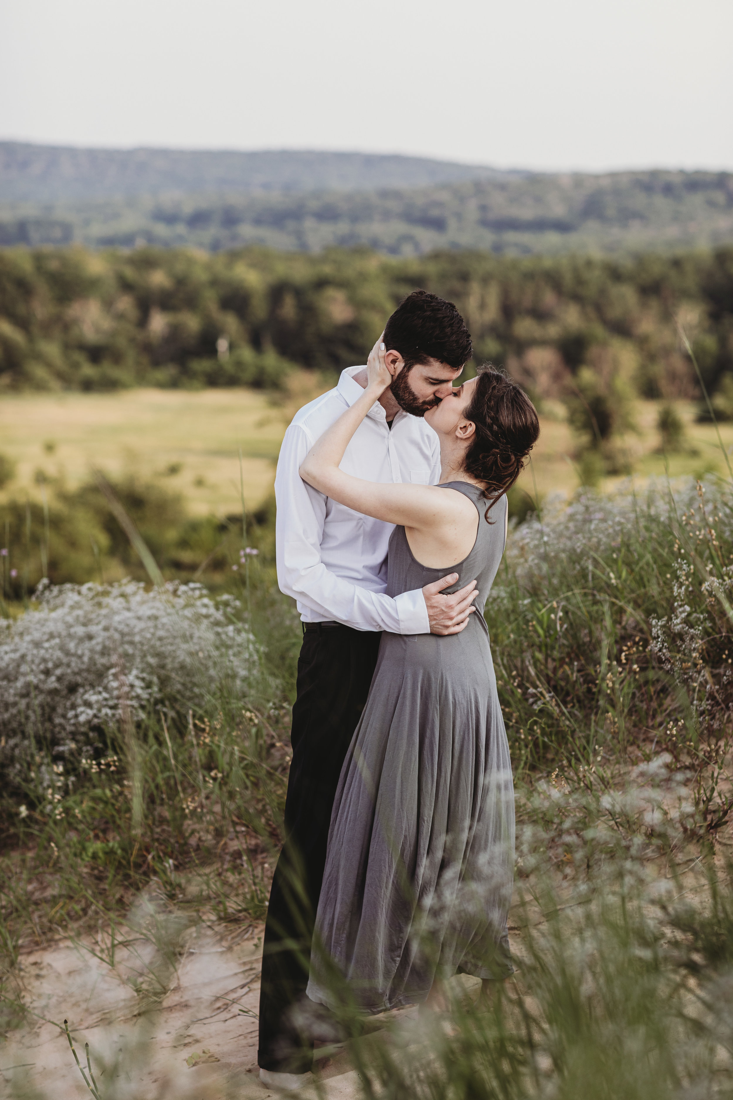 Katie + Austin Sleeping Bear Dunes Engagement Session-8.jpg