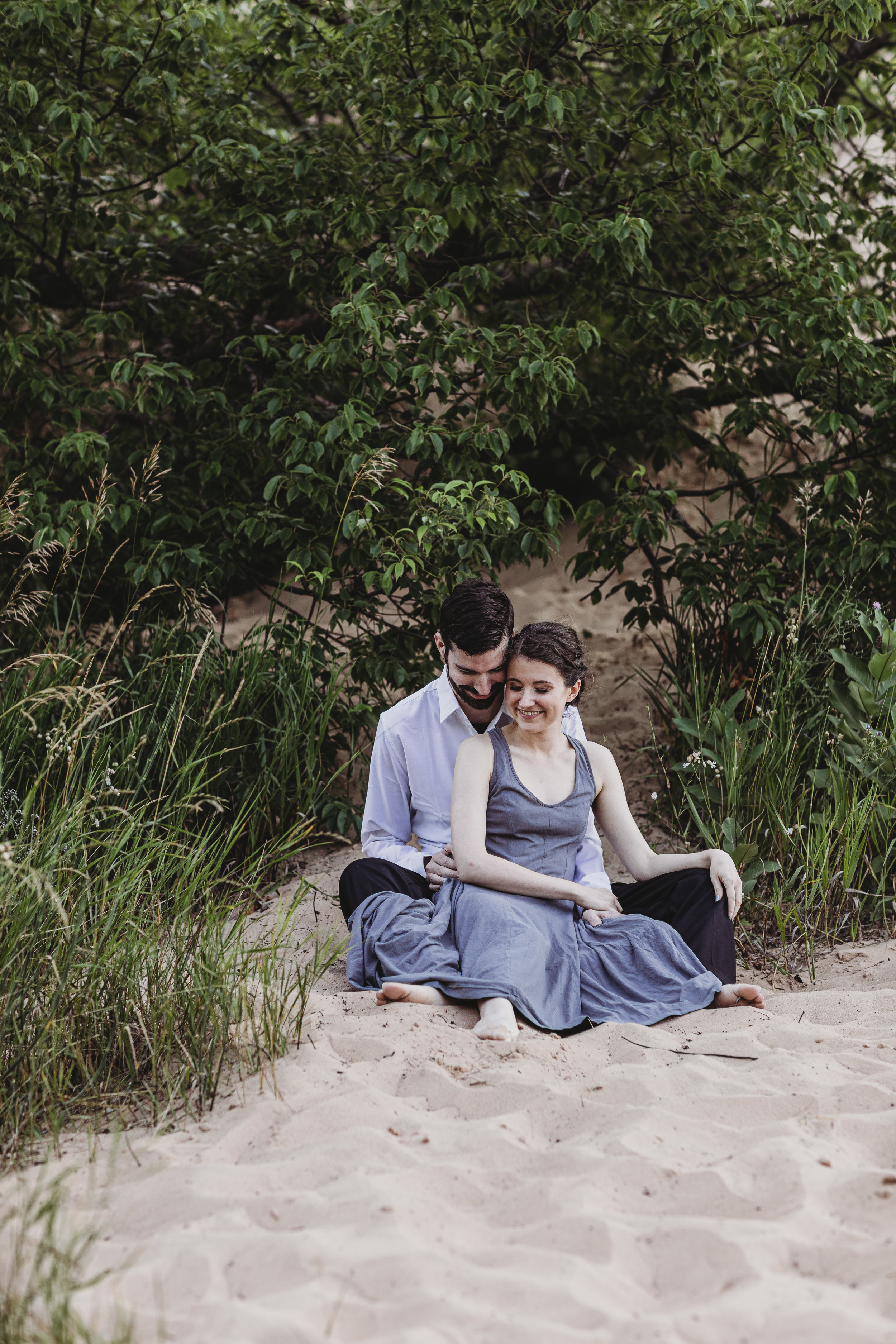 Katie + Austin Sleeping Bear Dunes Engagement Session-6.jpg