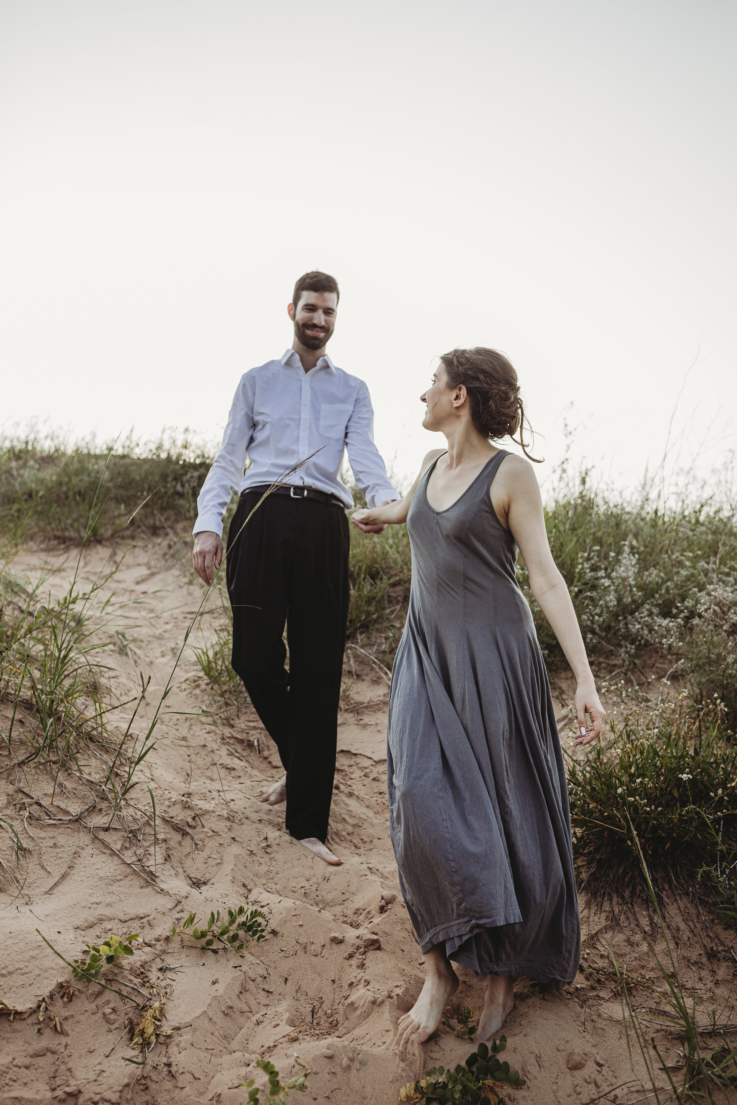 Katie + Austin Sleeping Bear Dunes Engagement Session-18.jpg