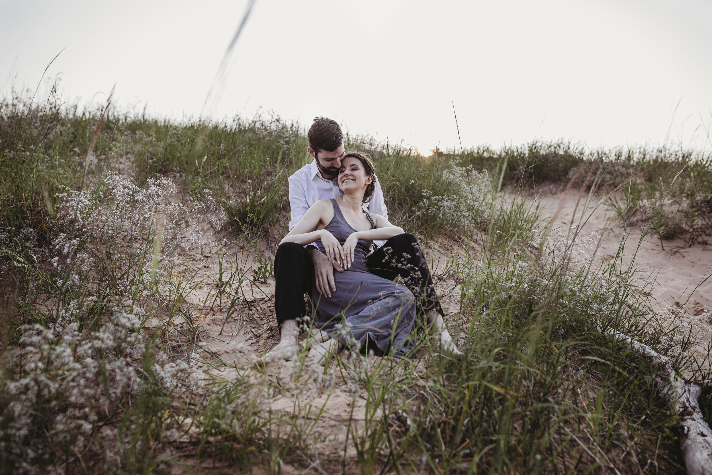 Katie + Austin Sleeping Bear Dunes Engagement Session-20.jpg