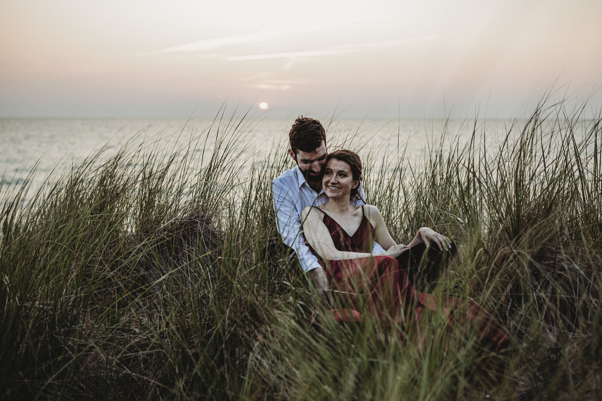 Katie + Austin Sleeping Bear Dunes Engagement Session-35.jpg