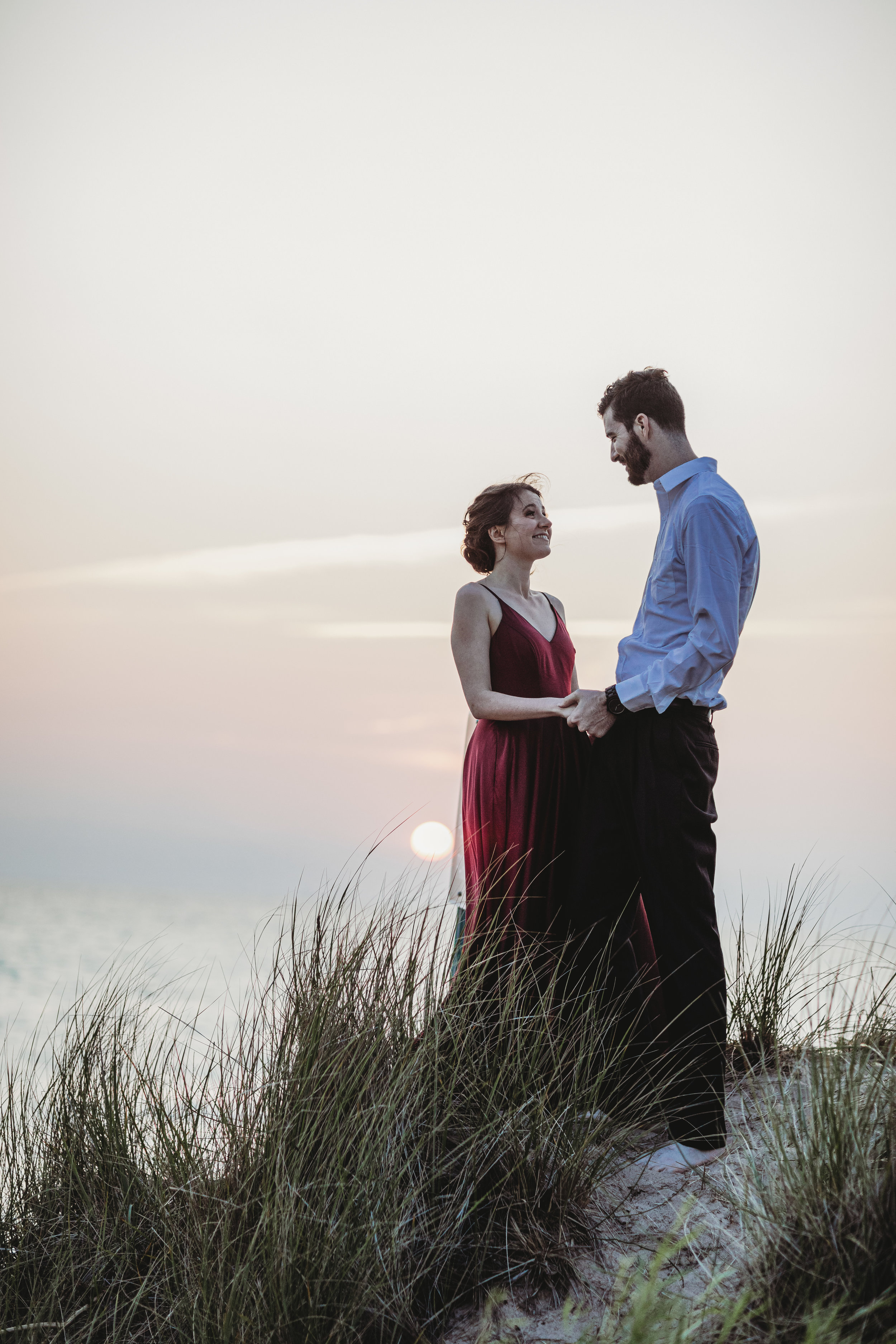 Katie + Austin Sleeping Bear Dunes Engagement Session-34.jpg