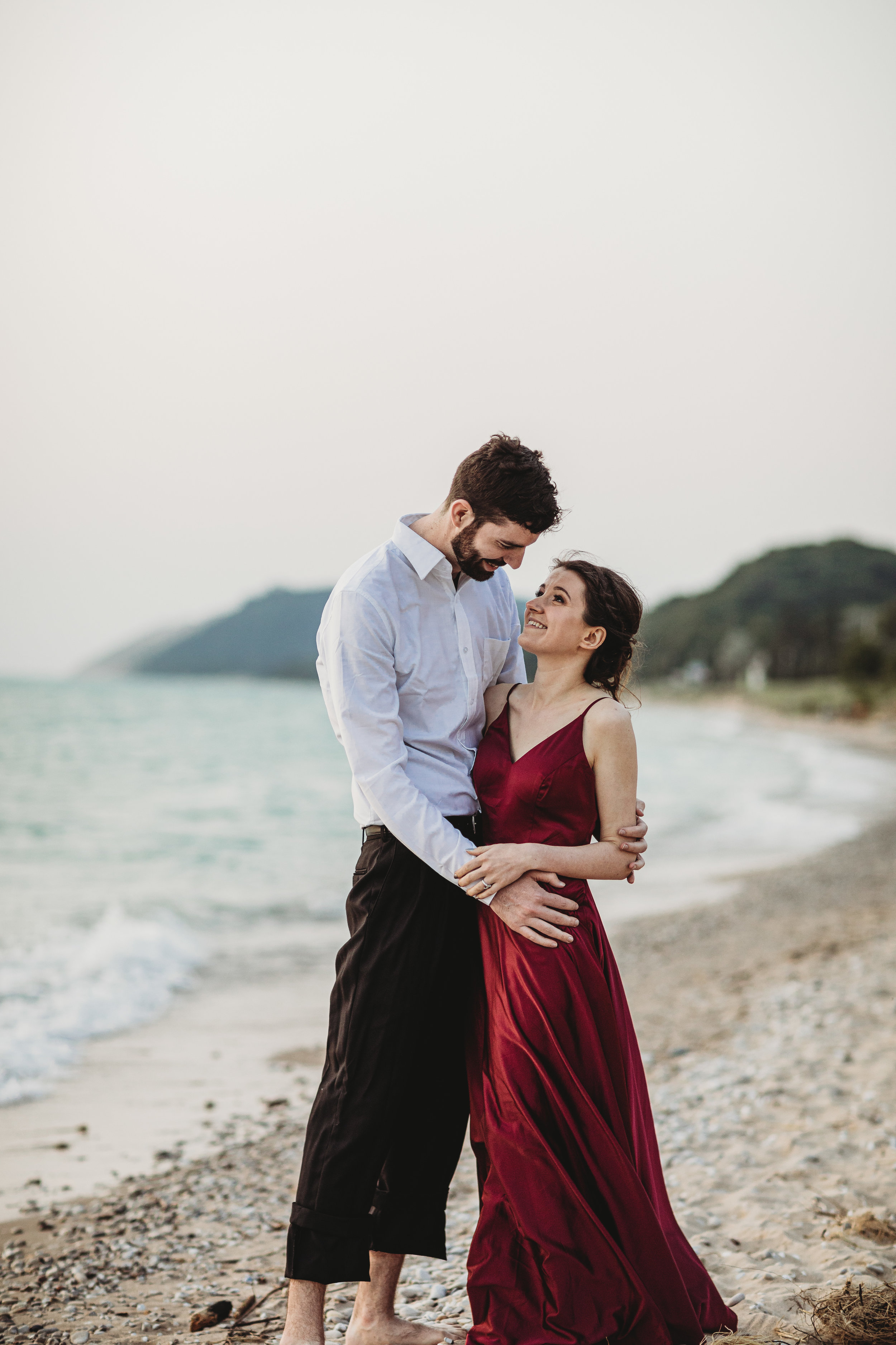 Katie + Austin Sleeping Bear Dunes Engagement Session-43.jpg
