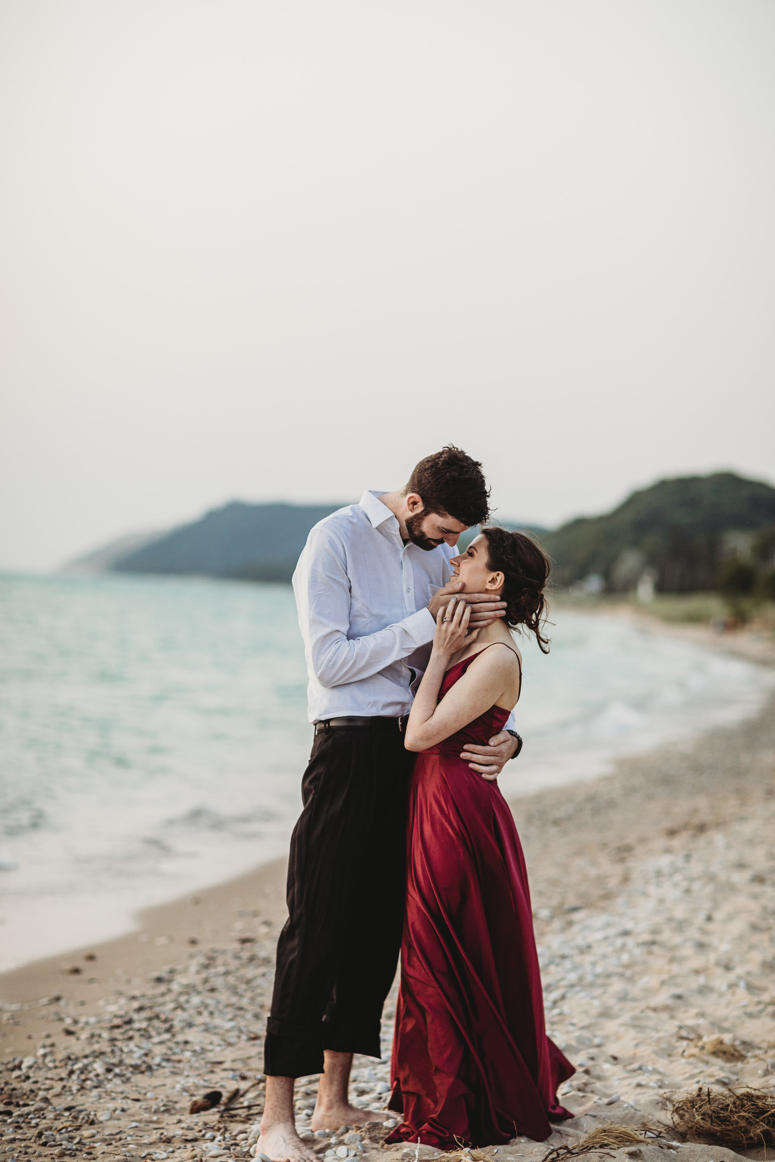Katie + Austin Sleeping Bear Dunes Engagement Session-44.jpg