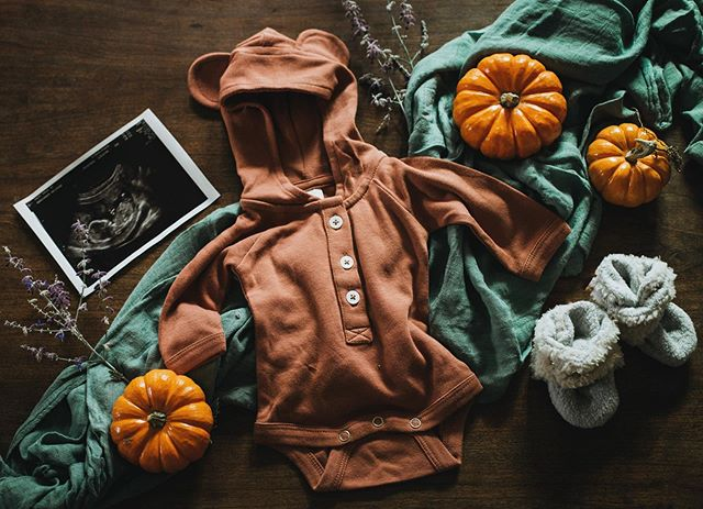 Feeling so ready to cozy in for fall and start prepping for this little pumpkin. Baby boy Roos, joining us January 2020. 🧡 @heartpinewoodworks