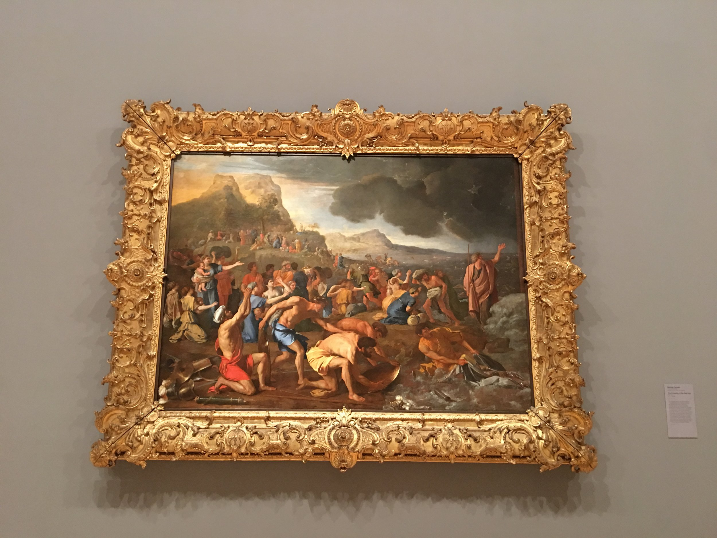 The crossing of the Red Sea, Poussin, 1637