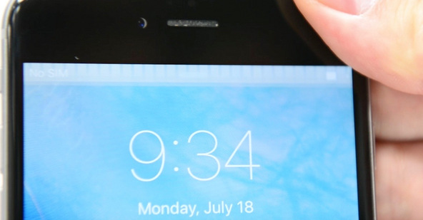 """These charactaristic """"Grey Bars"""" at the top of the LCD are a certain indicator that your phone is suffering from Touch IC failure."""