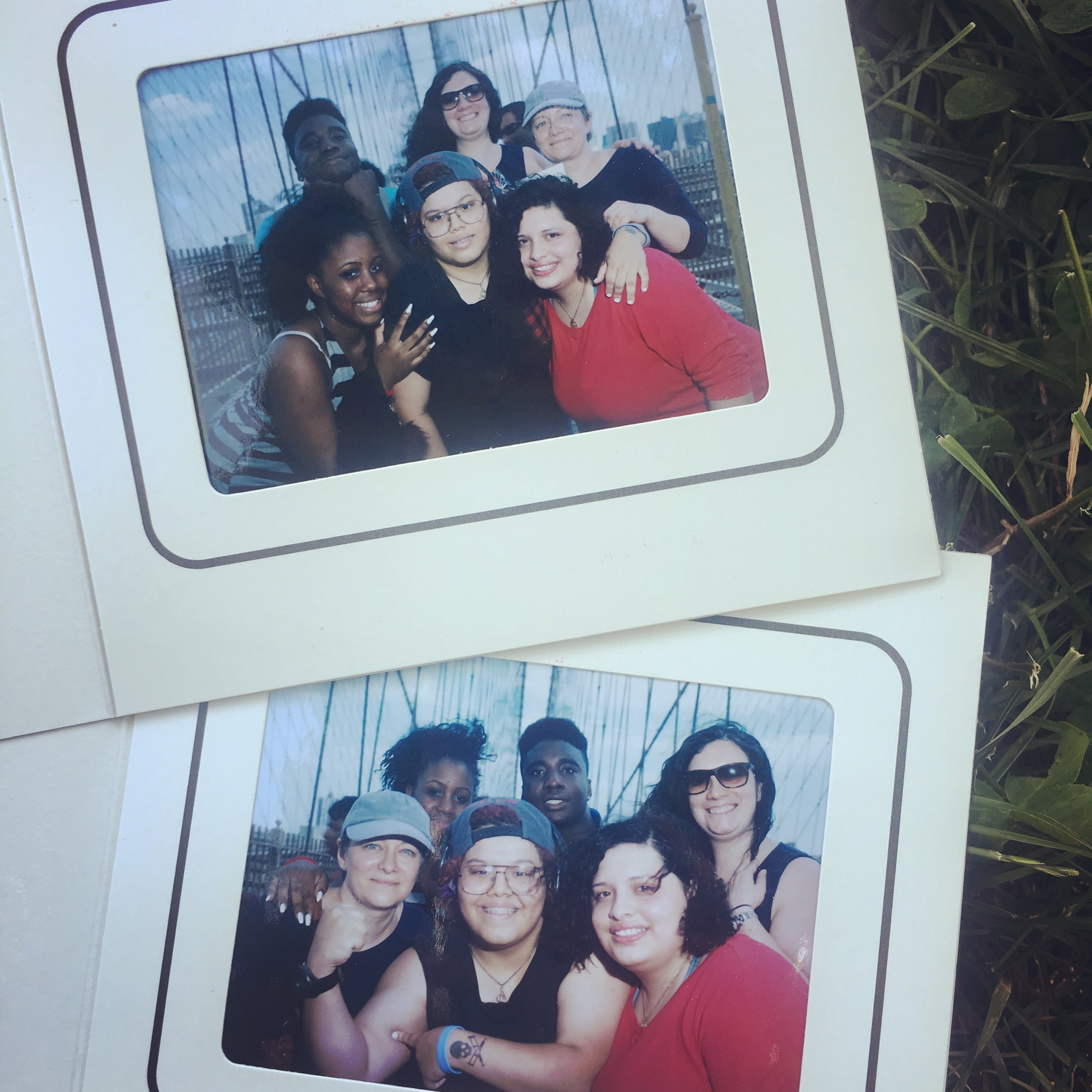 Polaroids from our most recent Saturday adventure!