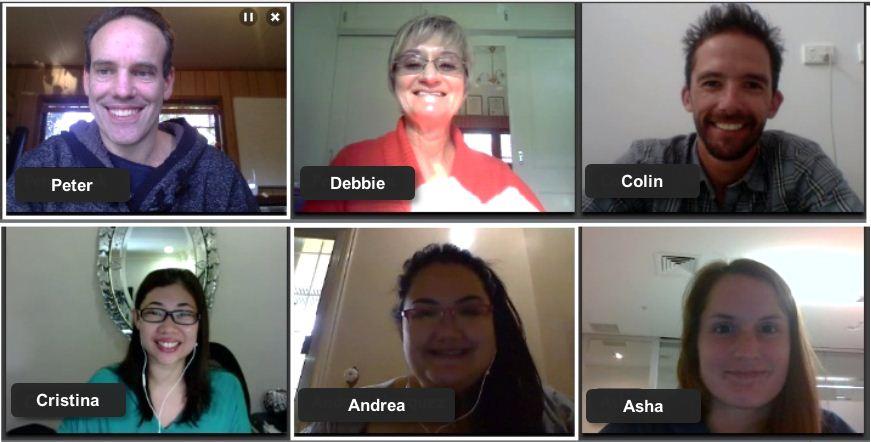 Team meeting on gotomeeting v3