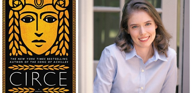 Author Madeline Miller has given Circe, a witch who turns men into pigs in Homer's 'The Odyssey,' a leading role in her most recent book. (Book cover courtesy of Little, Brown and Company/Photo by Nina Subin)