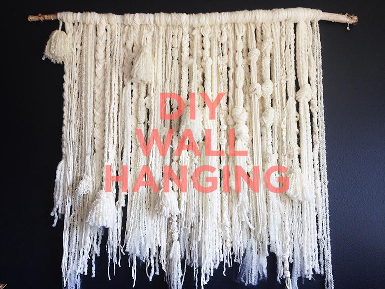 gorgeous diy wall hanging