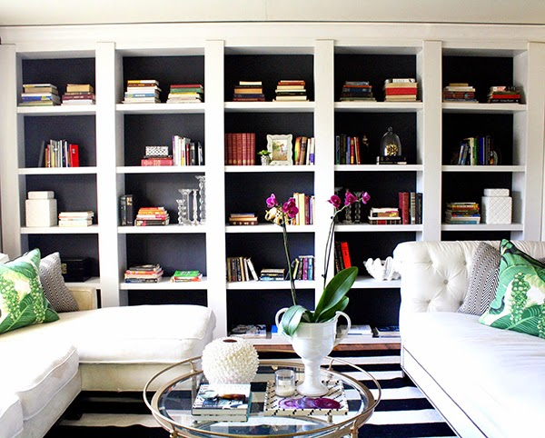 Small space upgrades worth splurging on: built-in bookshelves