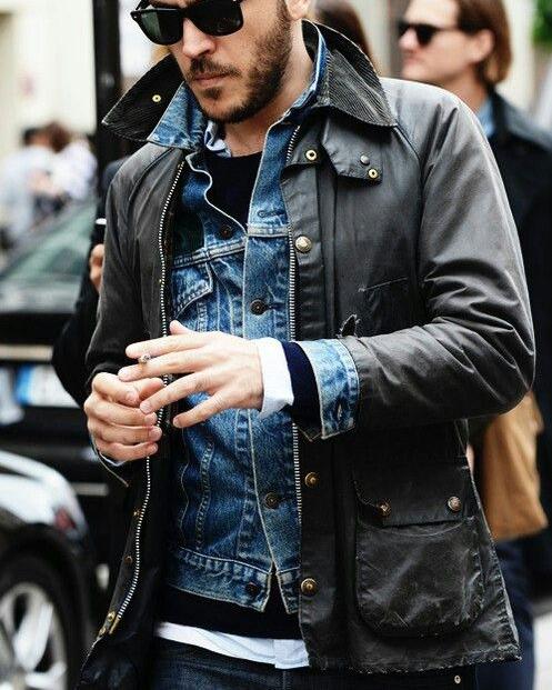 jacket over jacket