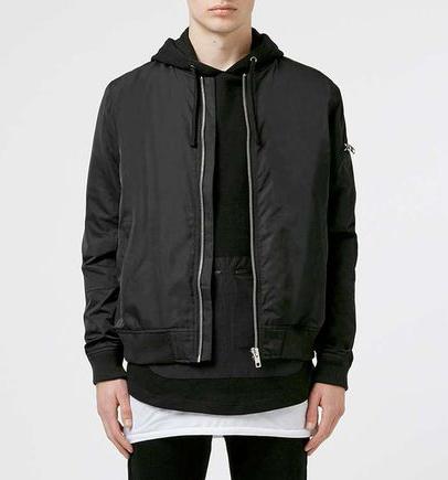 hoodie + bomber
