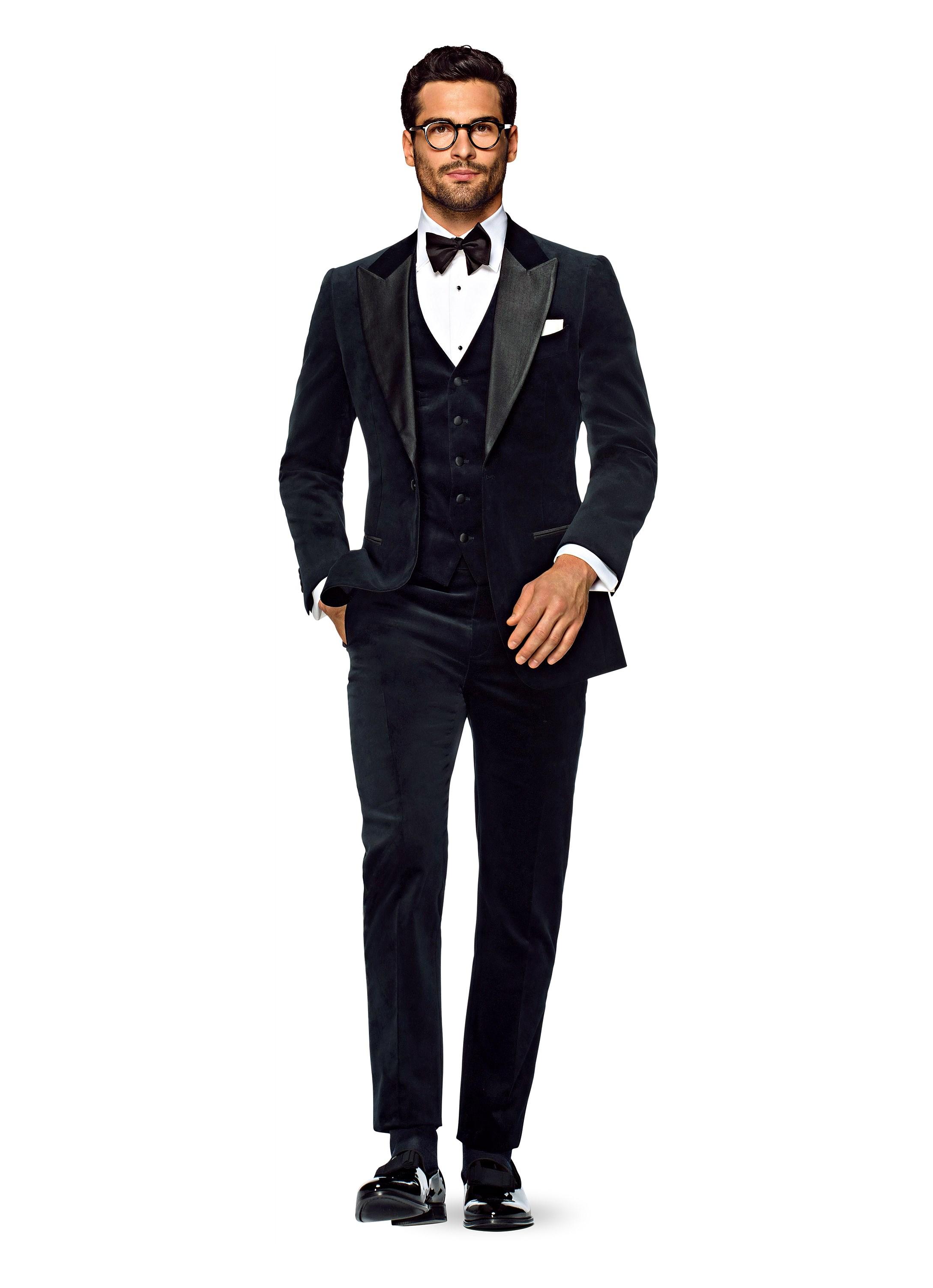 Suit Supply Winter Velvet Tux