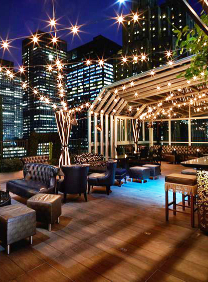 Rooftop Cocktail Event