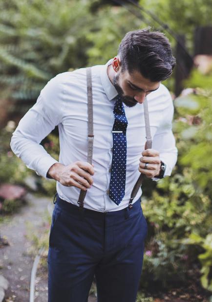 No Jacket + Tie