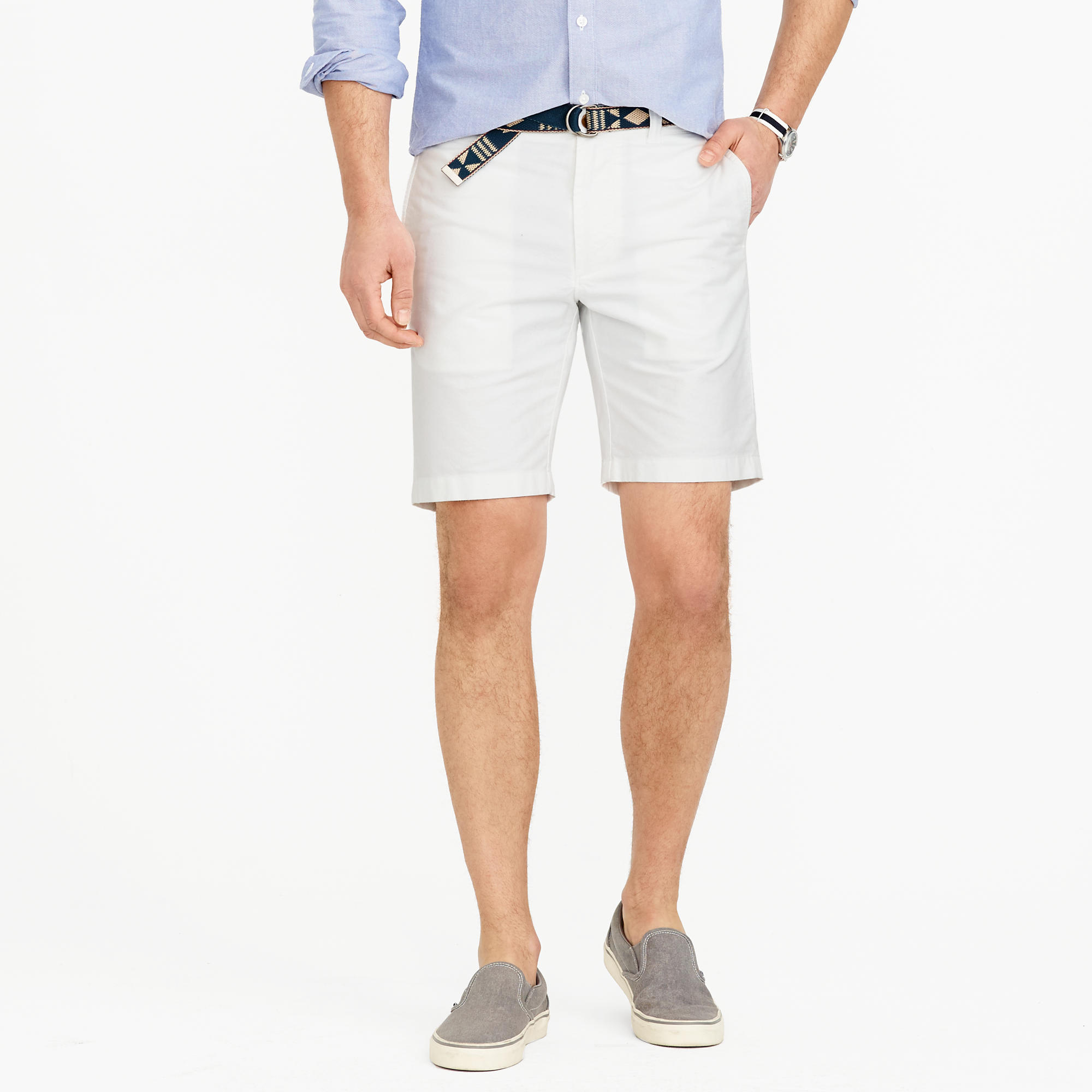 "J.Crew 9"" Oxford Cloth"