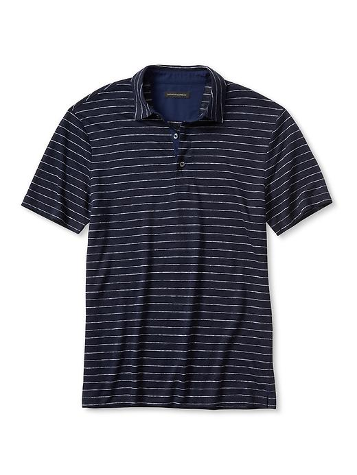 Banana Republic Linen Polo