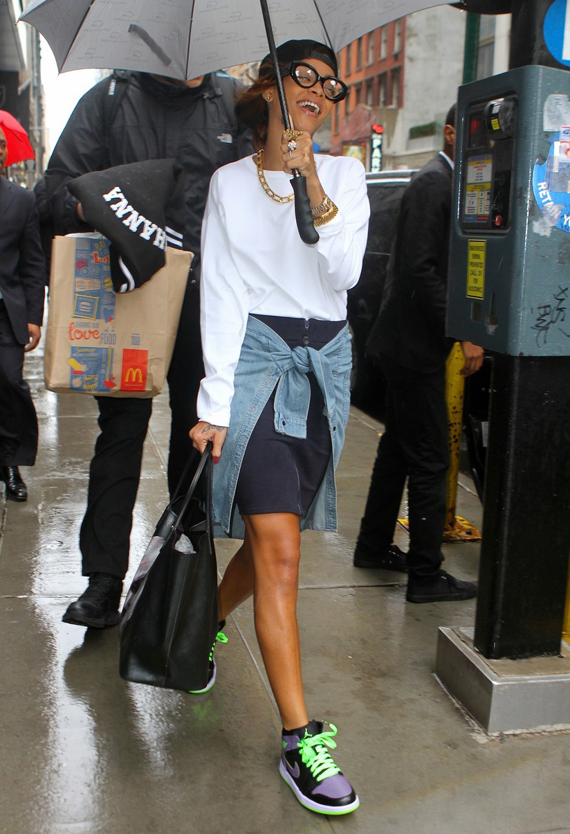 "Rihanna in Jordan 1 ""Joker"""
